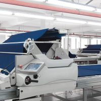 equipment for the preparation of cloth at a garment factory